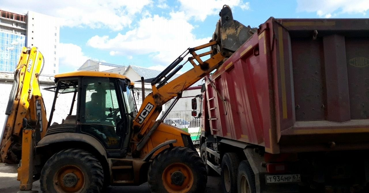 Уборка и вывоз строительного мусора - Смоленск, цены, предложения специалистов